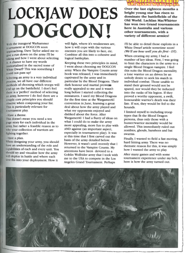 Malediction of Nagash – a blog about games and being dead in